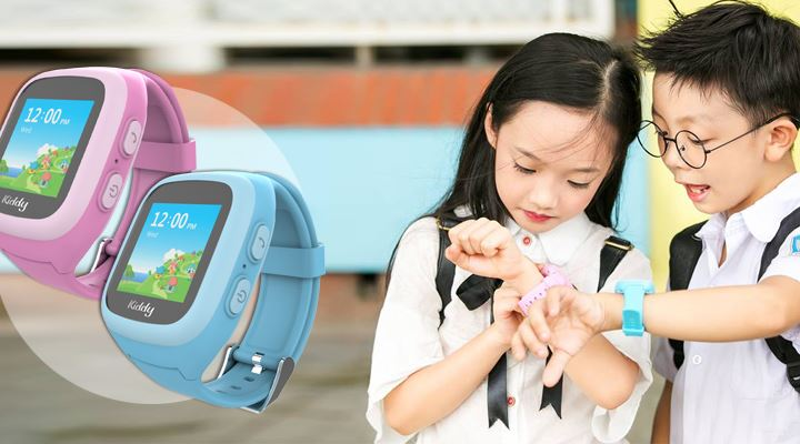 Đồng hồ định vị trẻ em phù hợp với bé từ 5 đến 14 tuổi