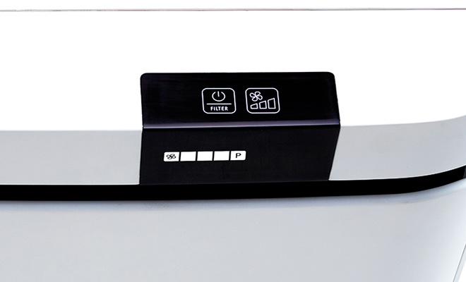 Bảng điều khiển thanh lịch và hiện đại của Boneco
