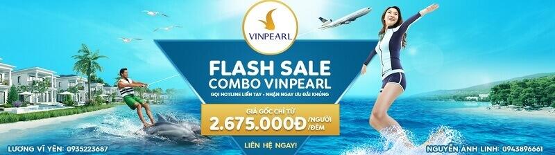 Voucher Vinpearl giá rẻ còn được bán kèm cả vé máy bay khứ hồi