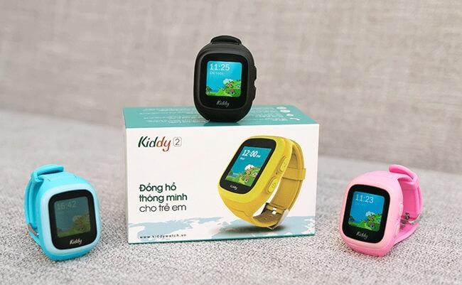 Đồng hồ định vị trẻ em Kiddy 2 của Viettel