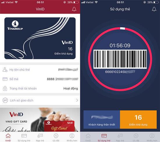 Đăng ký thẻ VinID để được tích điểm khi mua hàng ở Adayroi