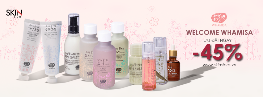 Nhiều thương hiệu hàng đầu thế giới khuyến mãi hàng tháng trên Skin Store