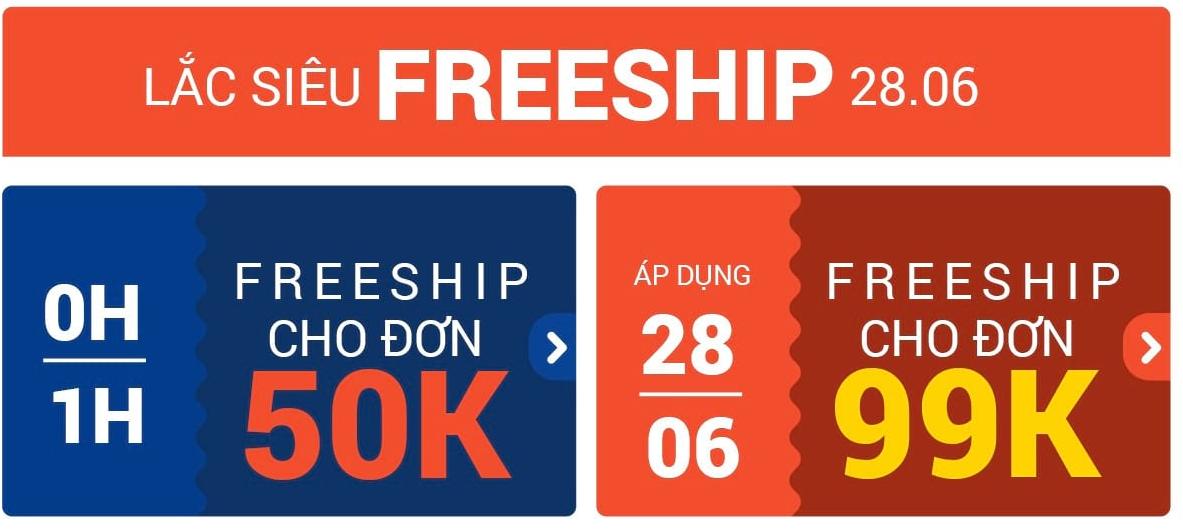Nhận thêm nhiều mã freeship hơn